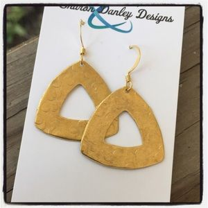 Brass Earrings - Handmade!!